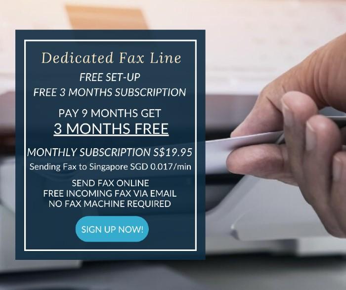 DEDICATED-FAX-LINE